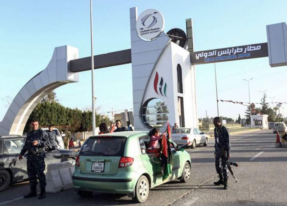 Tripoli hava limanı fəaliyyətini bərpa edib