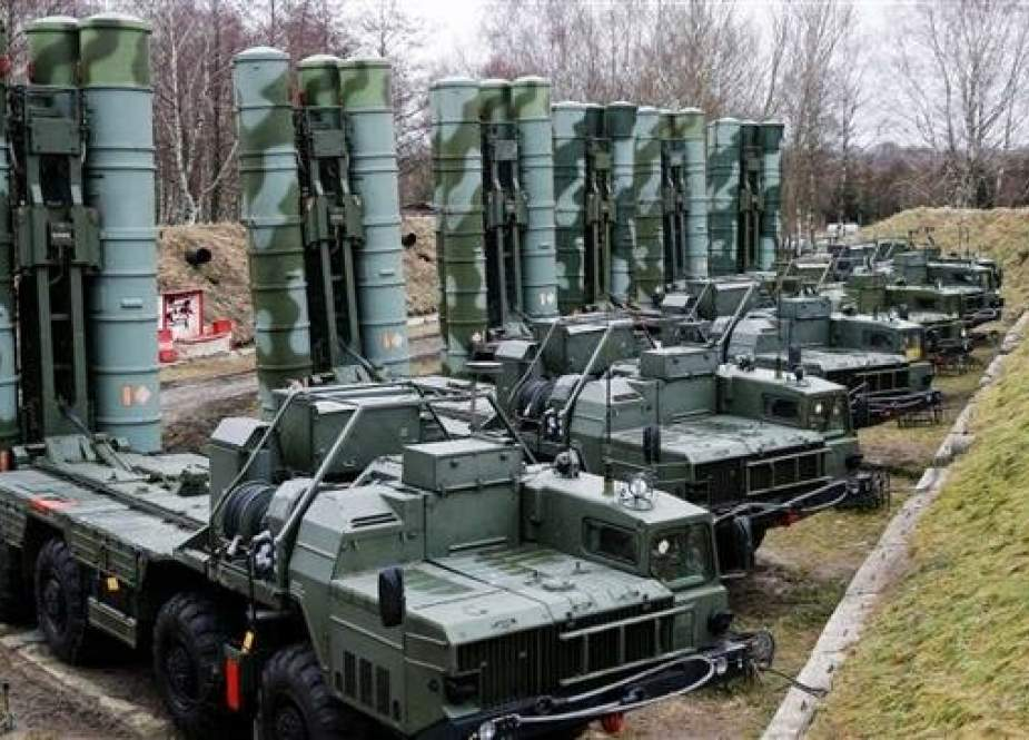 Russian-made S-400 anti-aircraft missile systems.jpg
