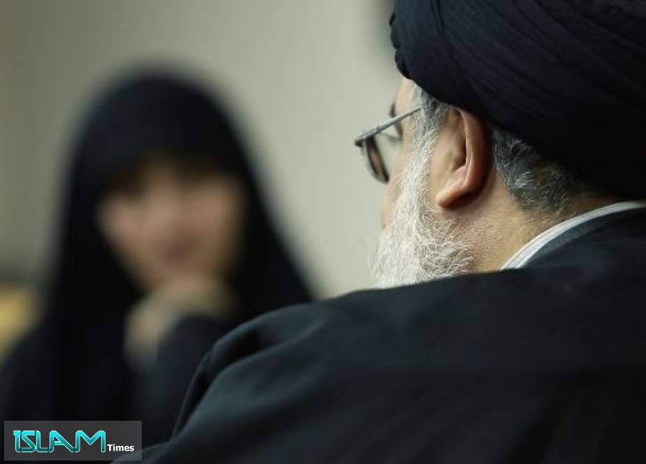 Sayyed Hassan Nasrallah Meets with Martyr Soleimani's daughter