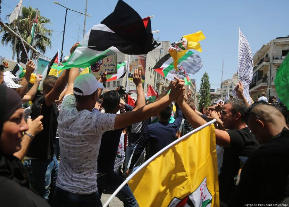 Gazans rally against US