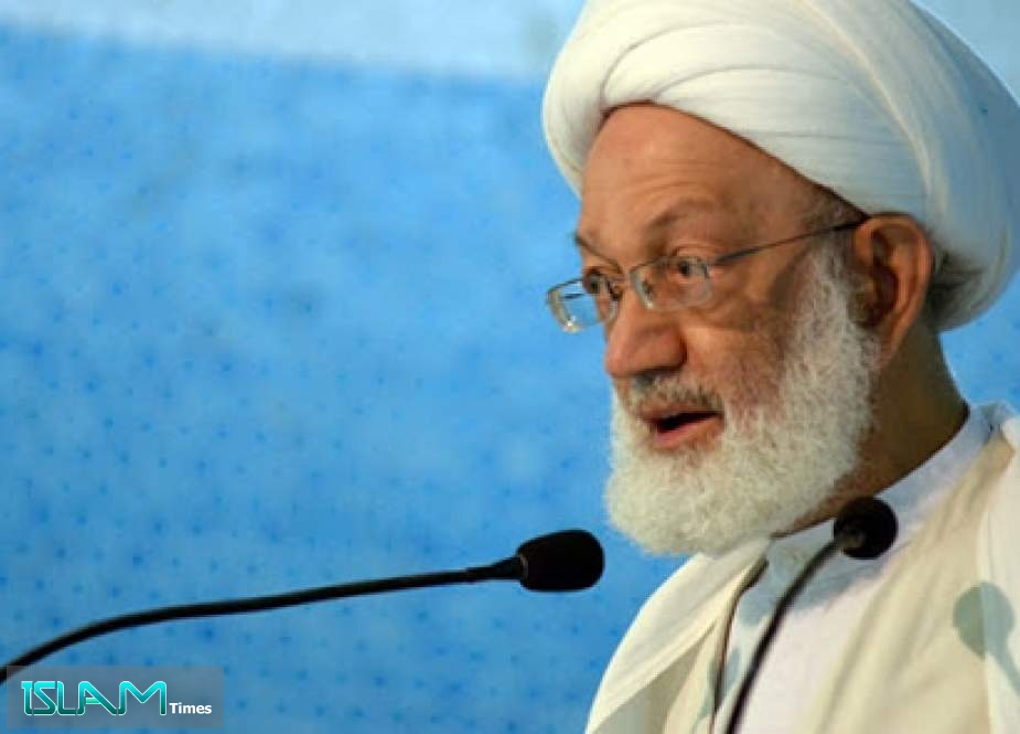 "Bahrain's Sheikh Qassem Urges on the Muslim Nation to Thwart ""Malicious Deal of the Century"""