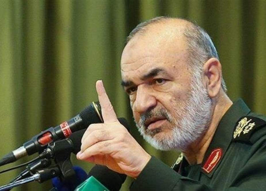 Brigadier General Hossein Salami, the second-in-command of Iran