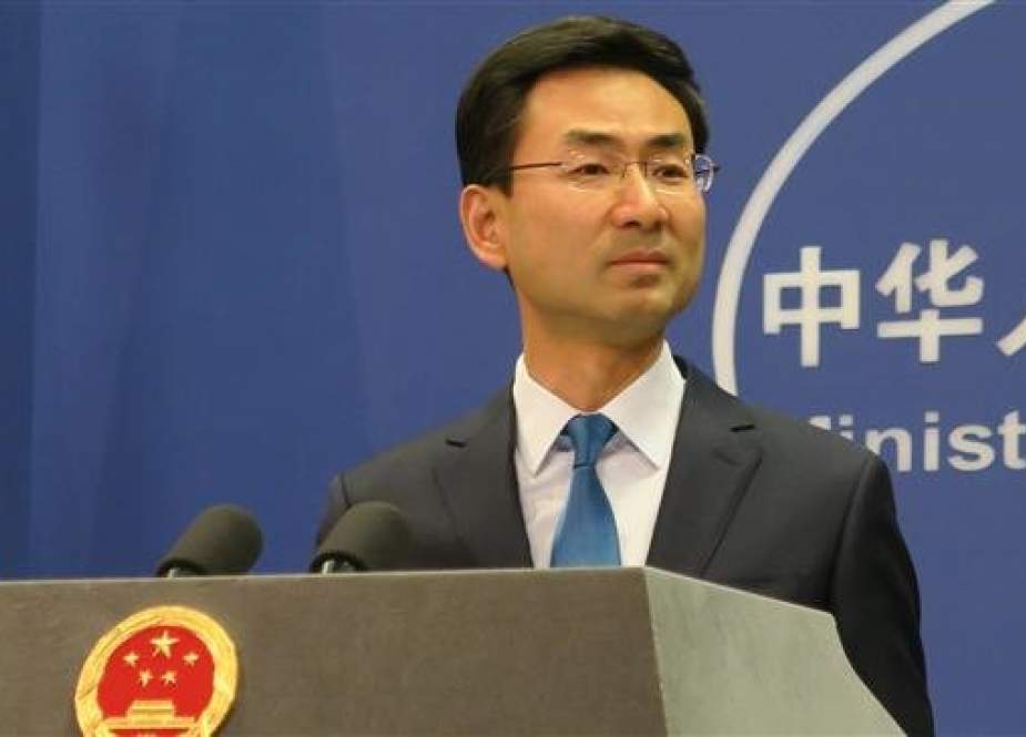 Geng Shuang, spokesperson for China