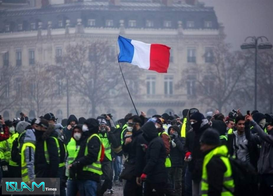 Yellow Vests Hit Streets of Lille in 67th Week of Protests in France