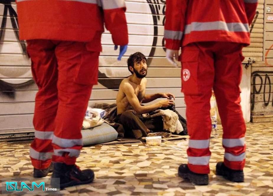 Homeless Stuck on the Streets During Coronavirus Lockdown
