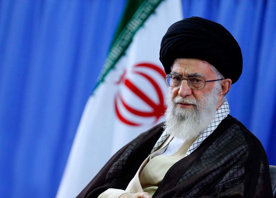Imam Sayyed Ali Khamenei, Leader of the Islamic Revolution in Iran.jpg