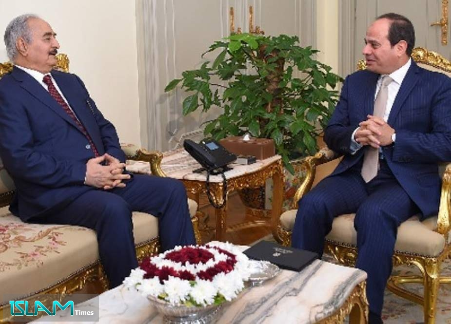 Egyptian President Received Libya's Haftar