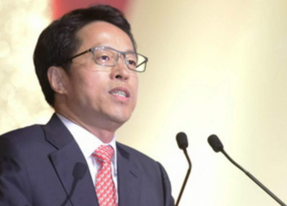 Zhang Xiaoming, Hong Kong and Macao Affairs office of the State Council..jpg