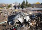 Wreckage of downed Ukrainian plane in Iran.jpg