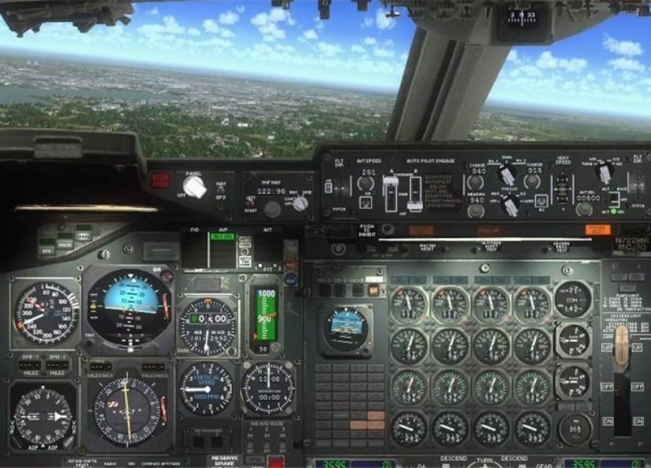 Iranian homegrown simulator system for Russian-made Ilyushin Il-76 strategic airlifter.jpg