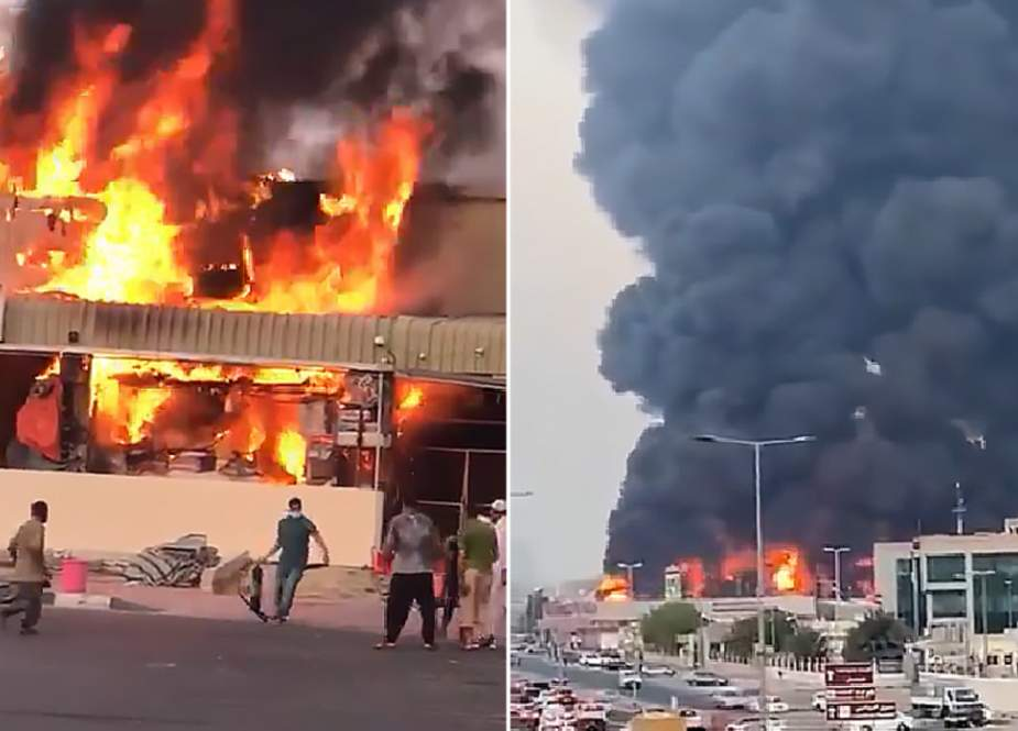 Huge blaze breaks out at food market in Ajman, UAE.jpg