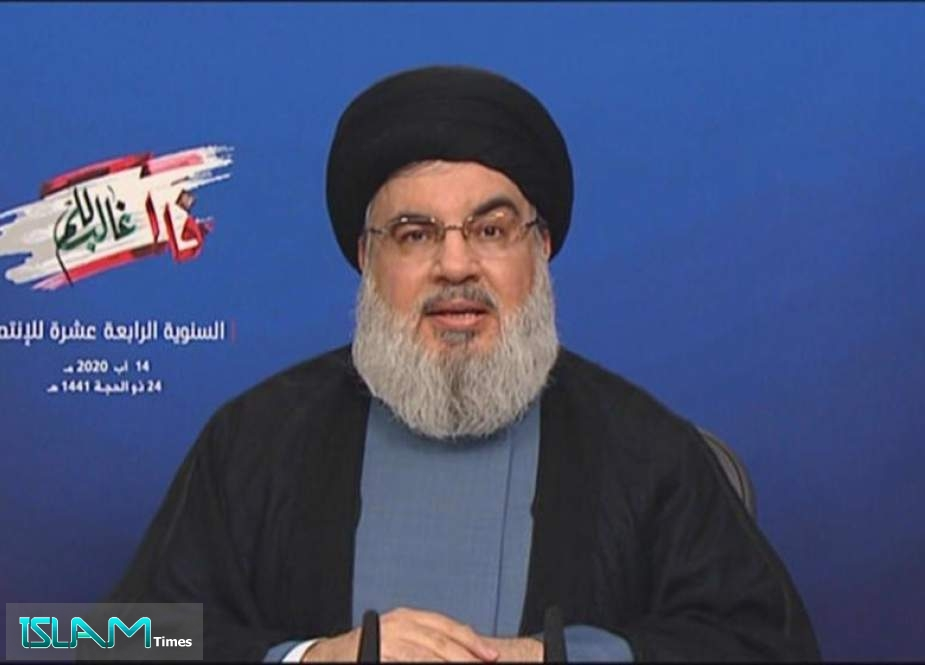 Sayyed Nasrallah: Balance of Deterrence Protects Lebanon, Retaliation against 'Israel' Inevitable