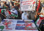 Palestinians protest in Rafah in the southern Gaza Strip against Israeli normalization deals.jpg