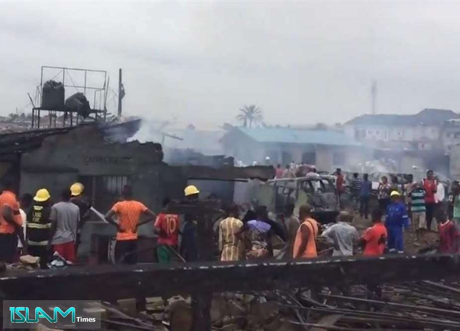 Dozens Injured in Nigeria's Lagos Gas Tanker Blast