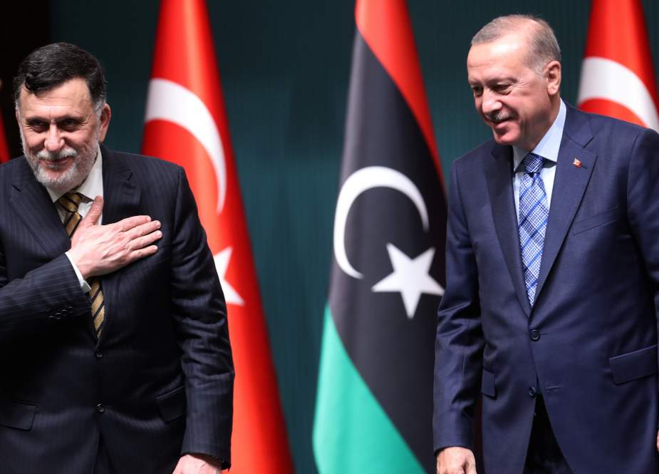 Turkish President Recep Tayyip Erdogan with the head of the UN-recognised Libyan Government of National Accord (GNA), Fayez Sarraj.jpg