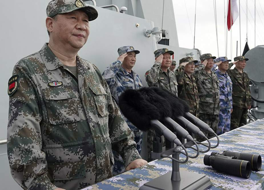 Chinese President warns troops to be on