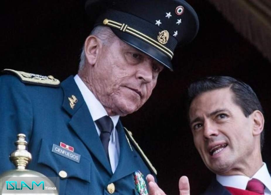 US Authorities Arrest Former Mexican Defense Minister Over Drug Charges