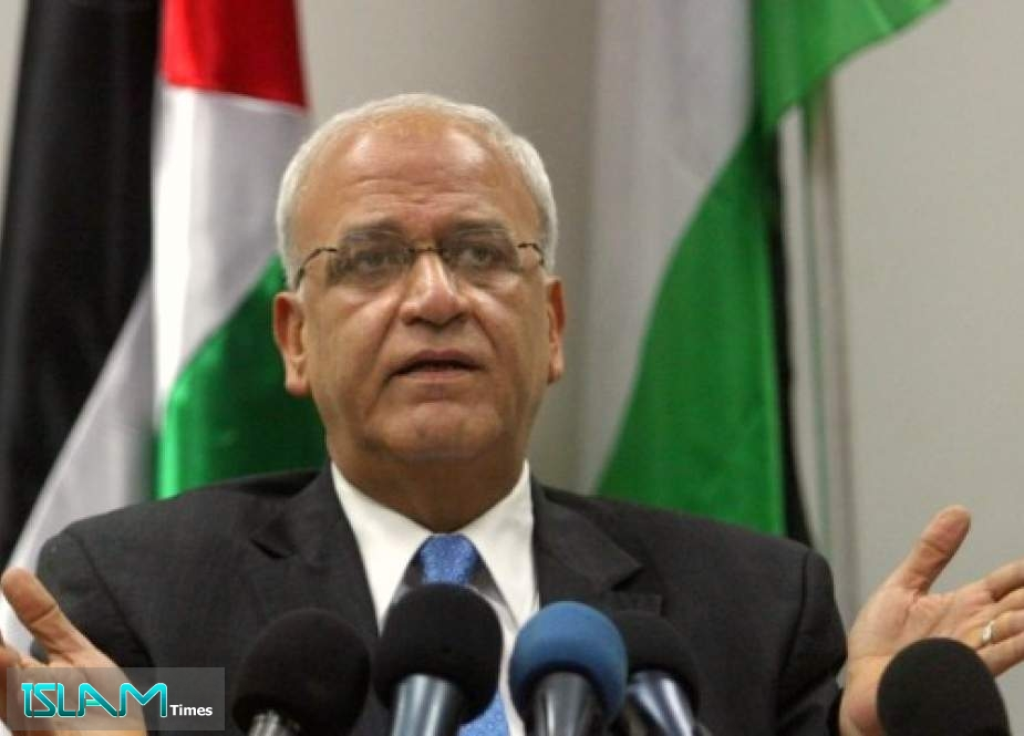 Top Palestinian Negotiator Erekat 'Critical' from Cornavirus