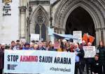 Protest near the Court of Appeal over UK