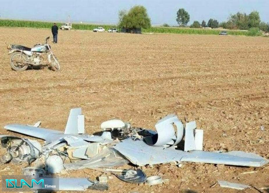 Karabakh War Drone Crashes at Iran's Bordering Areas