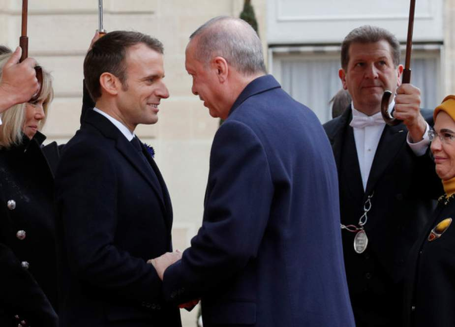 French President Emmanuel Macron and Turkey