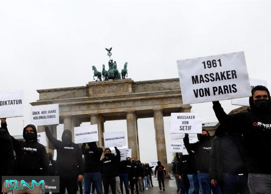 Muslims Hold Protests in Berlin against Macron's Anti-Islam Remarks