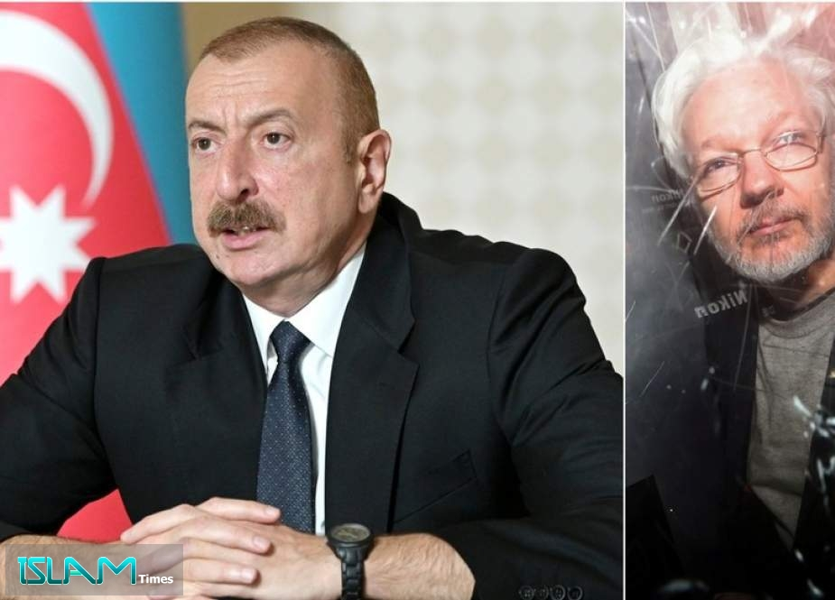 Azerbaijani president nails BBC journalist on 'media freedom' by bringing up Assange
