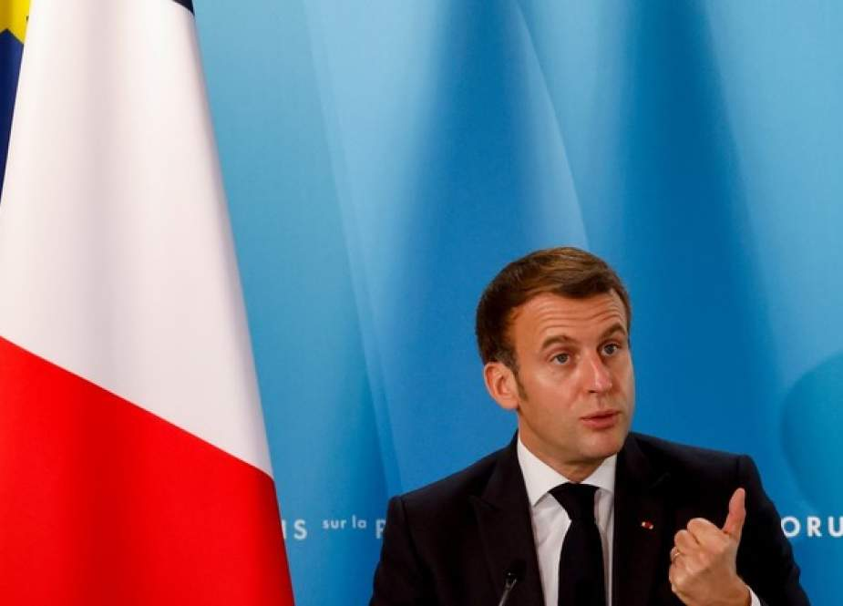 Emmanuel Macron, French President  at the Paris Peace Forum.jpg