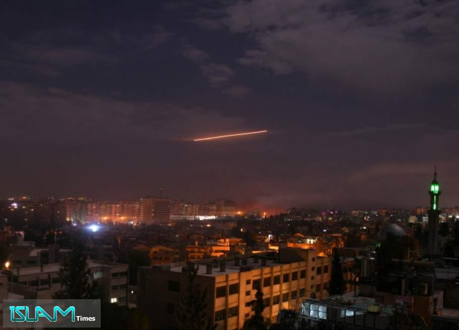 Syria's Air Defense Thwarts Israeli Aggression on Damascus