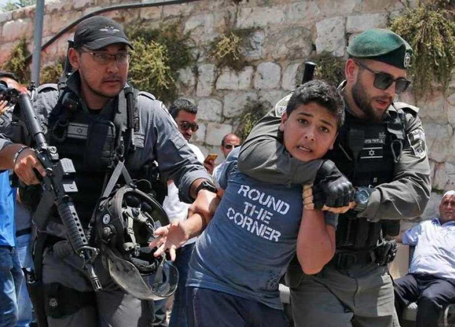 IOF have arrested more than 400 Palestinians under the age of 18.jpg