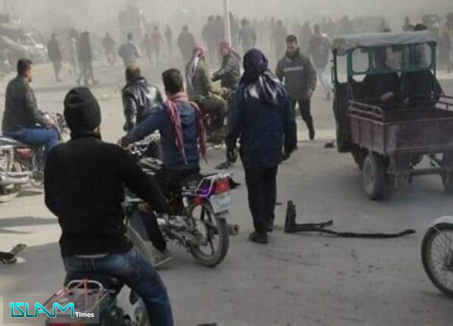 Car Bomb Blast Goes Off in Syria's Aleppo
