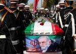 Members of Iranian forces carry the coffin of Iranian nuclear scientist Mohsen Fakhrizadeh.JPG