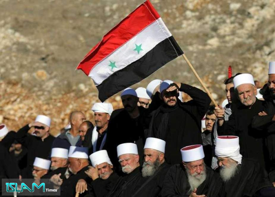 Syria Stresses Sovereign Right in Golan, Calls for The End Of 'Israeli' Occupation