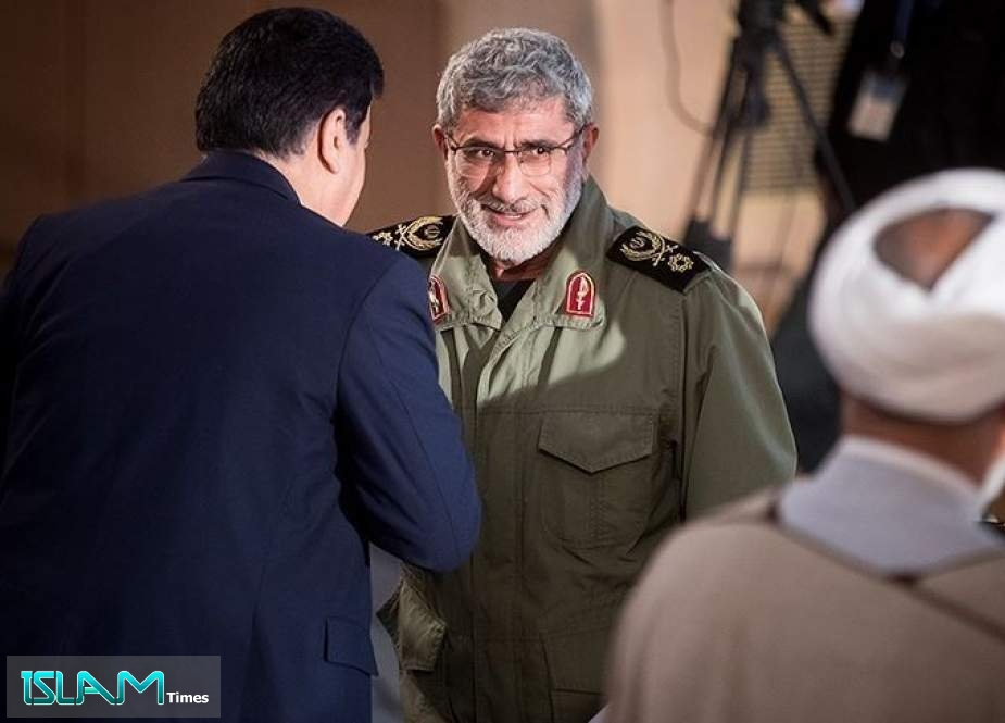 Envoy Confirms IRGC Quds Force Chief' Visit to Iraq
