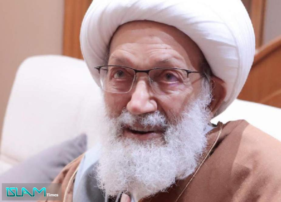 Sheikh Issa Qassem: Resistance Martyrs & Leaders are Umma's Pride, Bahrain Should Follow Their Path