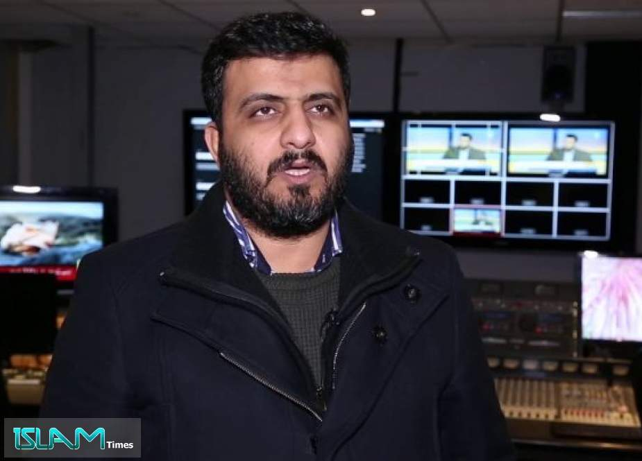 Ali Al-Fayez, The Bahraini political activist and opposition figure living in London.jpg