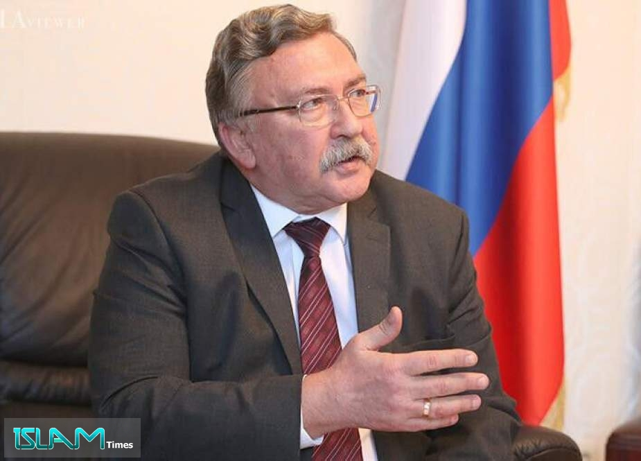 Ulyanov Stresses Need to Focus on Resolving JCPOA Issues