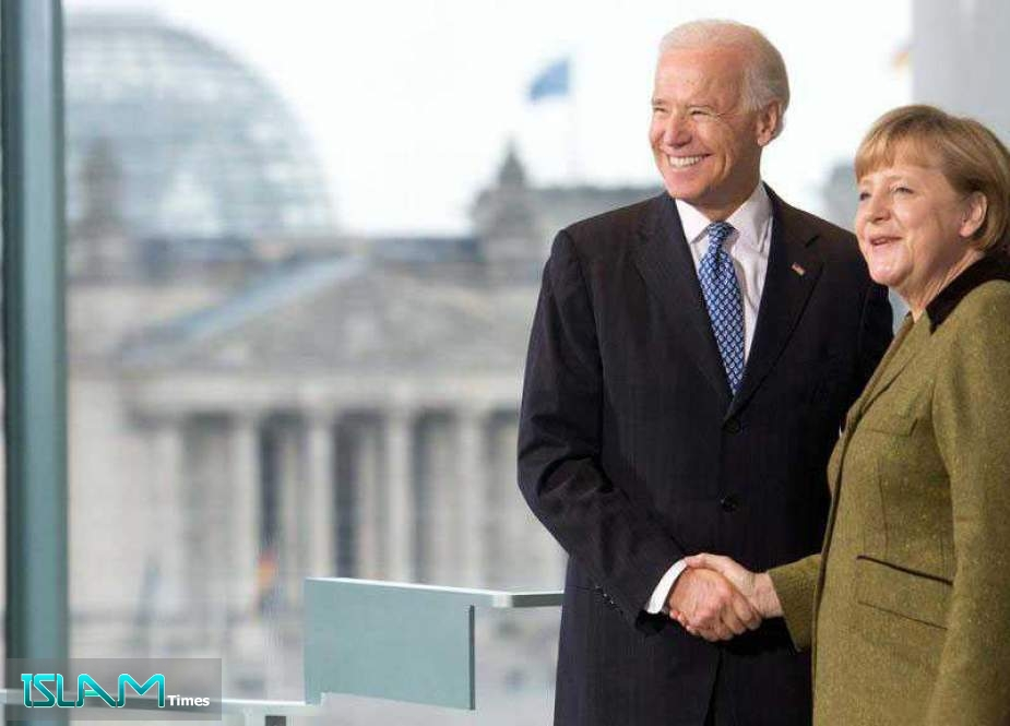 Merkel, Biden Discuss Iran in First Phone Call