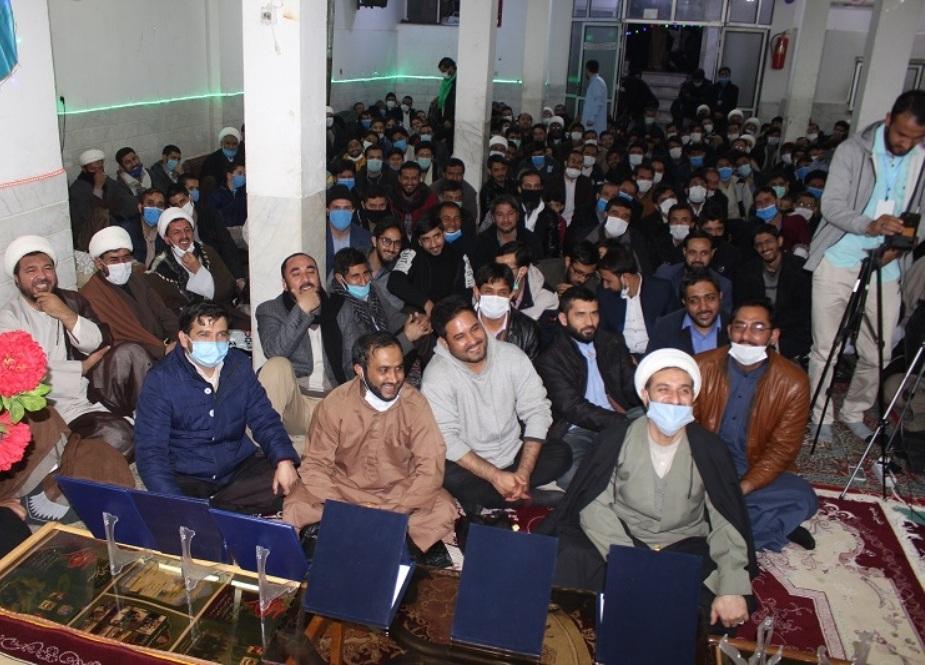 مراسم جامیا کاوسر تحت حمایت دانشگاه معنوی بالتیک پاکستان در حسینیه بالتیستانیا قم برگزار شد