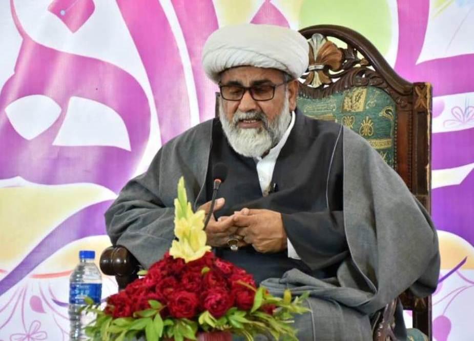 علامه رجا نصیر عباس جعفری ، رئیس مجلس وحدت مسلمان پاکستان ، یک روز به ملاقات رفت