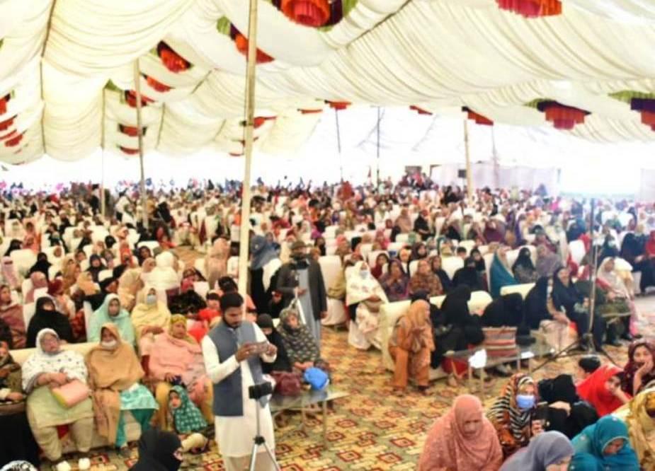 علامه راجا نصیر عباس جعفری ، رئیس مجلس وحدت مسلمان پاکستان برای یک روز سفر به مولتان