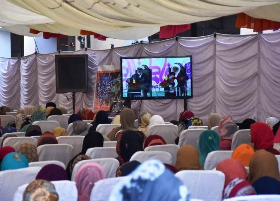 علامه راجا نصیر عباس جعفری ، رئیس مجلس وحدت مسلمان پاکستان ، یک روز به ملاقات رفت