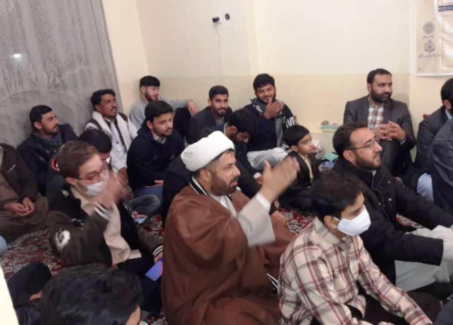 مجلس ودات مسلمانان ، مشهد مقدس ، شهید عارف الحسینی