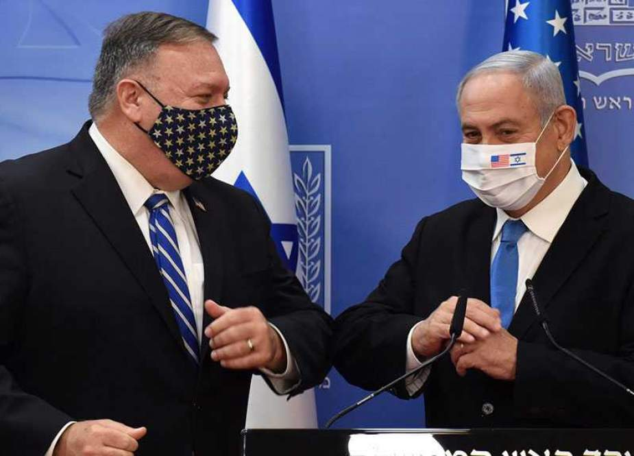 Mike Pompeo and Benjamin Netanyahu, With in Covid 19.jpg
