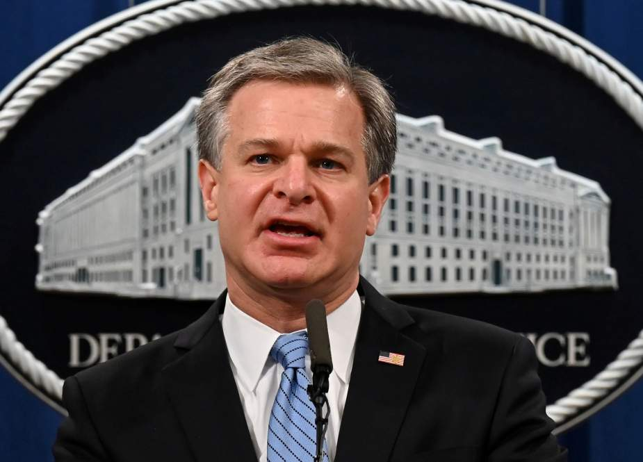 Christopher Wray, US FBI director Director.jpg