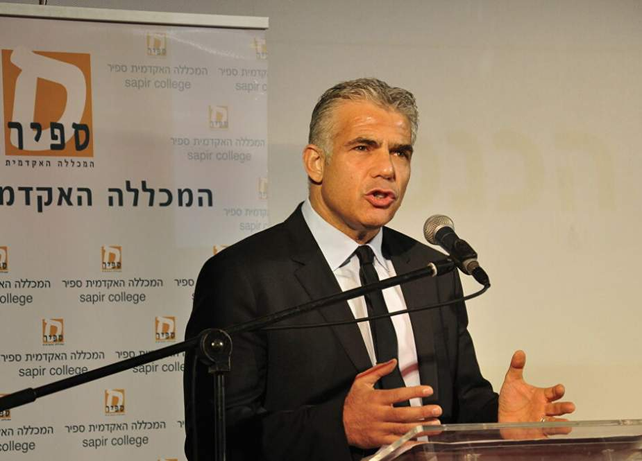 Yair Lapid, the leader of Israel