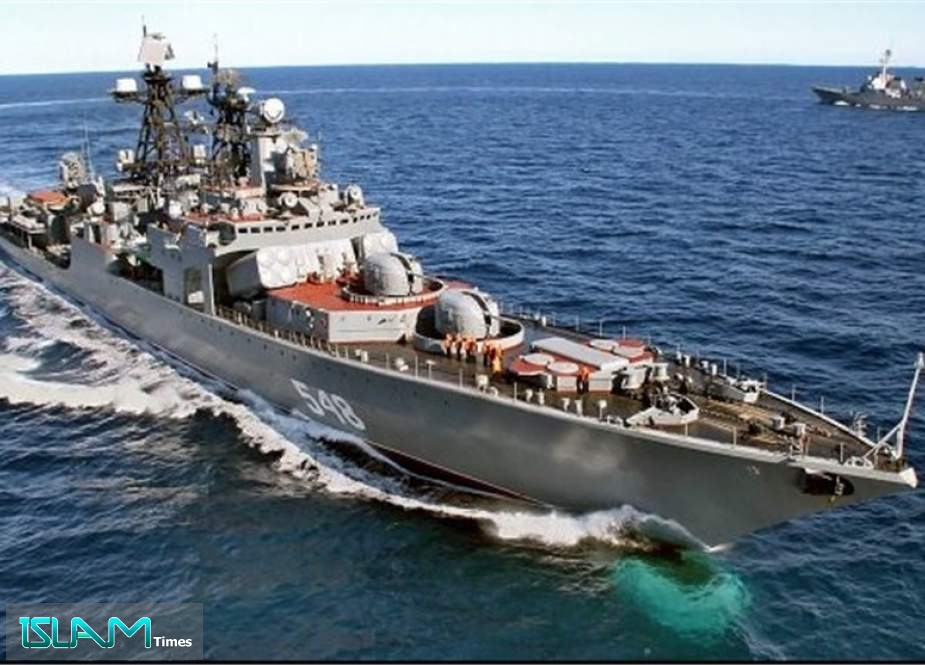 Russia Moves Warships to Black Sea for Drills