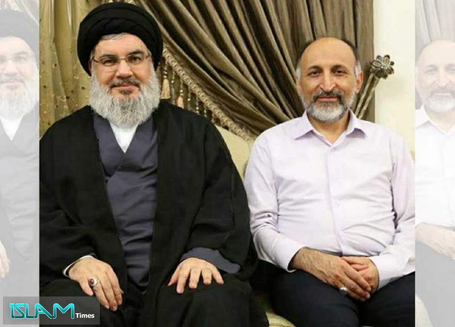 S. Nasrallah to Imam Khamenei: Brig. Gen. Hejazi Was Powerful Support to Axis of Resistance