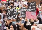 Muslims Denounce France over Its Plan to Ban Hijab for Minors