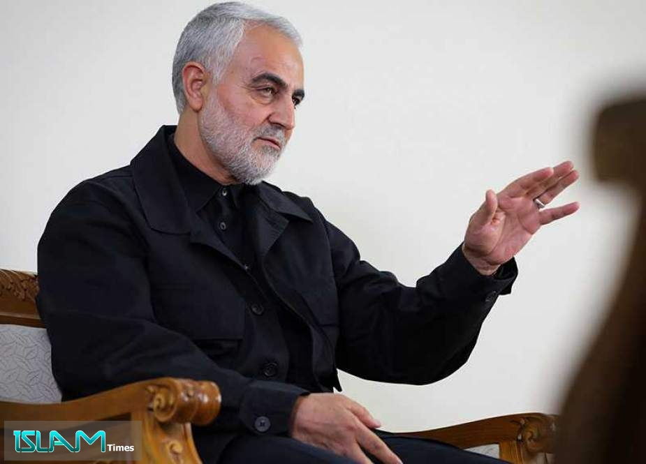 Zarif Reaffirms Admiration for General Soleimani, Hails His Major Anti-terror Role